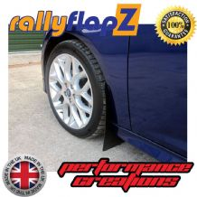 FOCUS Mk3 All Models (Except ST & Zetec S) (2012+) BLACK MUDFLAPS
